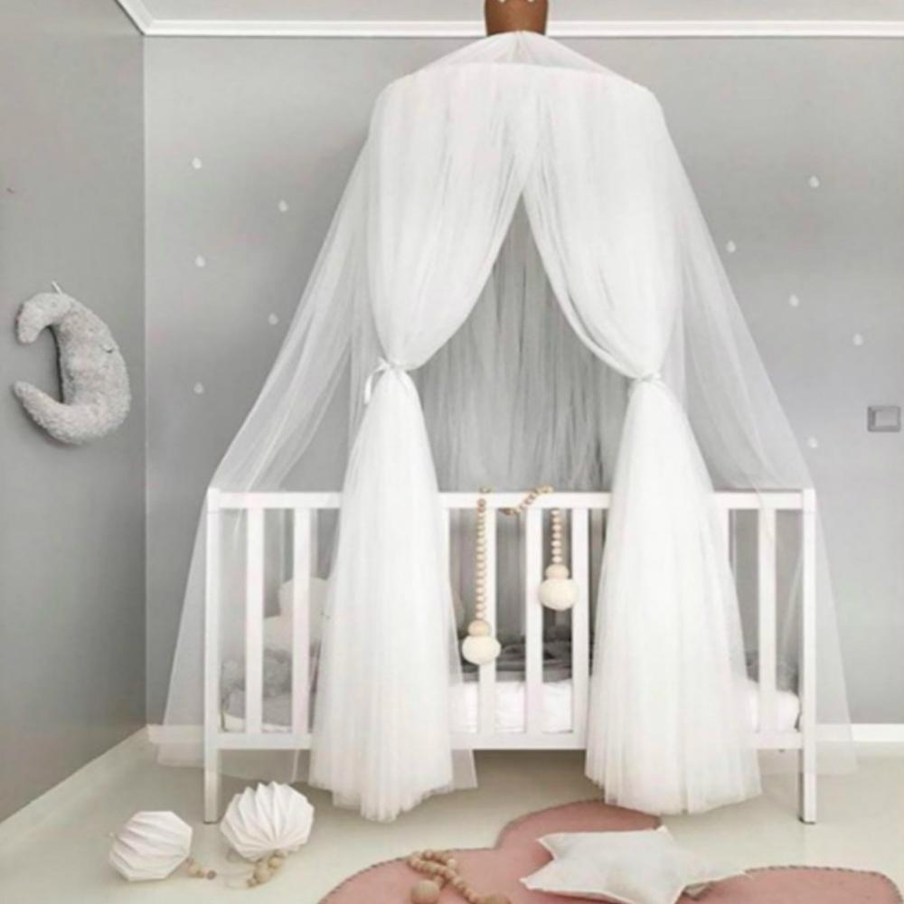 Princess Canopy Bed Valance Bed Curtain Kids Room Decoration Ba