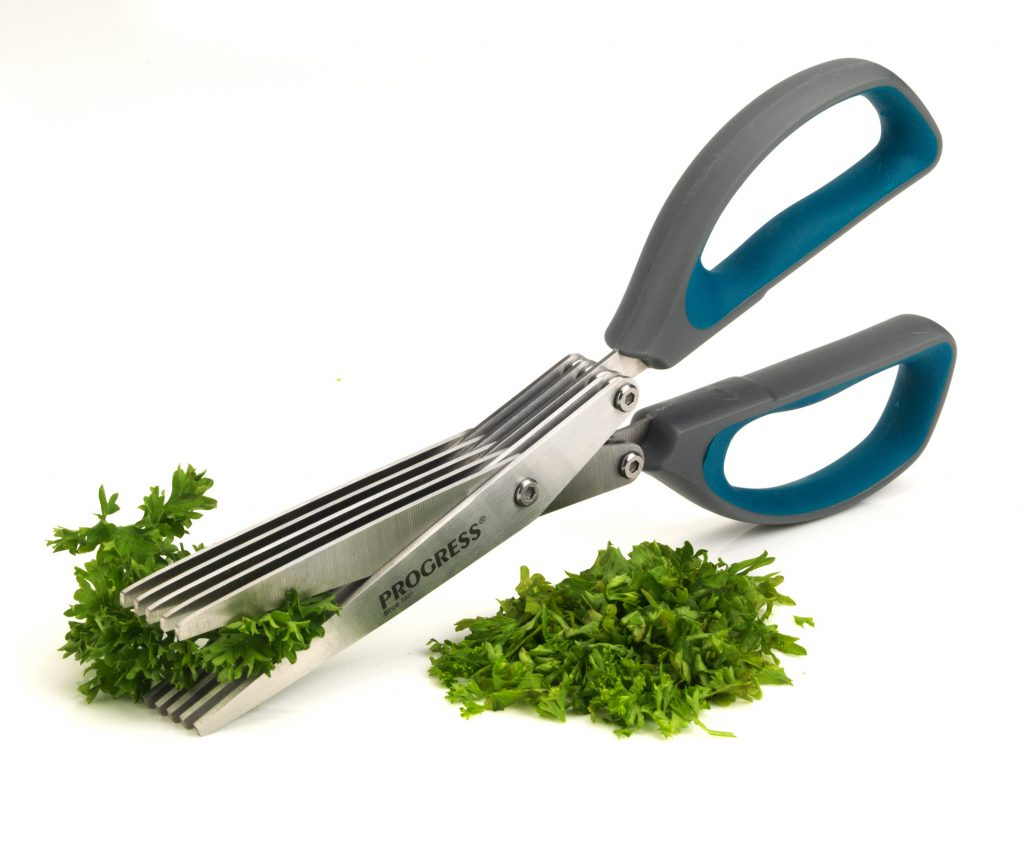 Progress Bw05899 5 Blade Herb Cutting Kitchen Scissors 2cr14