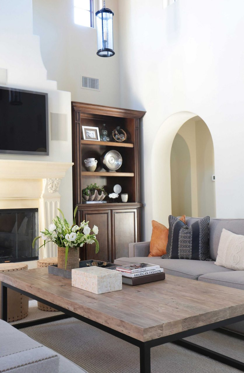 Project Shady Canyon Reveal Living Rooms Spanish Style Homes
