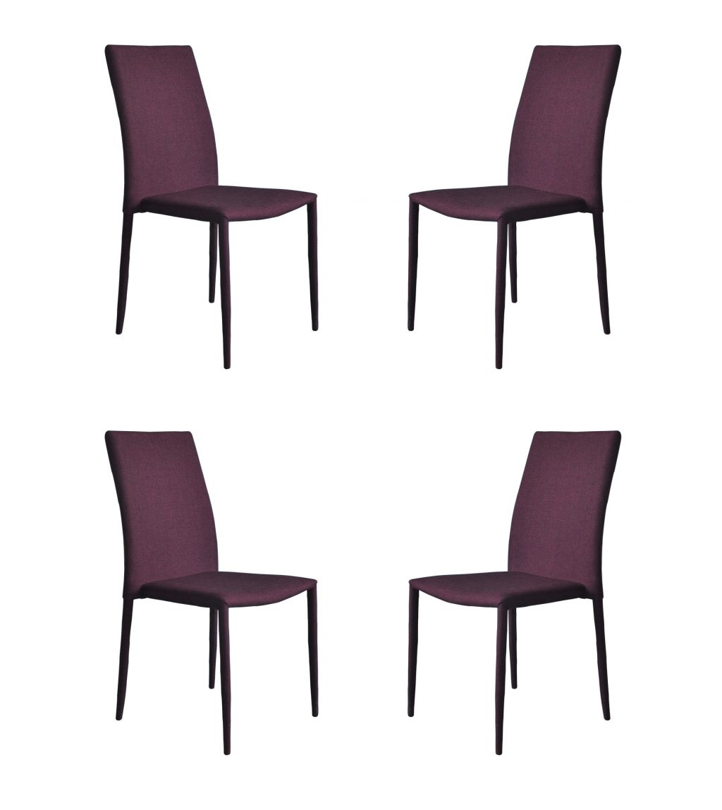 Purple Leather Dining Room Chairs Home Design Ideas Dining Room Side
