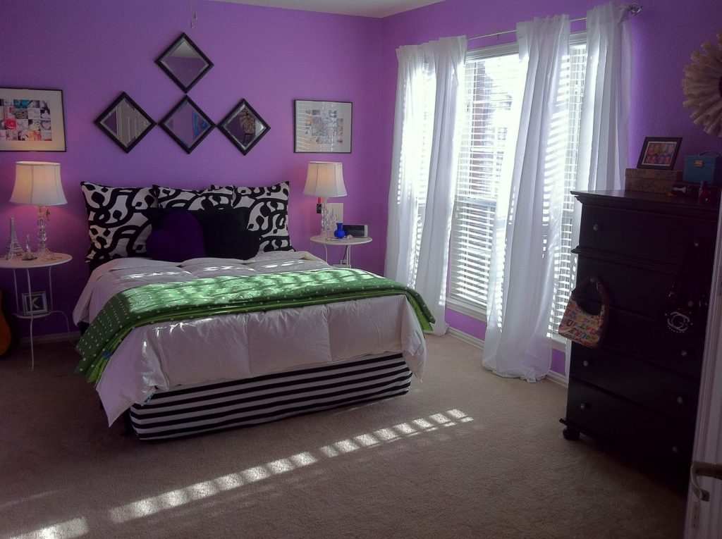 Purple Teen Bedrooms Room Ideas Pinterest Colors Room