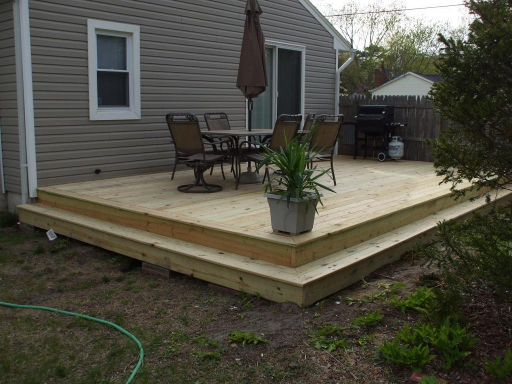 Questions About Framing A Ground Level Deck Decks Fencing