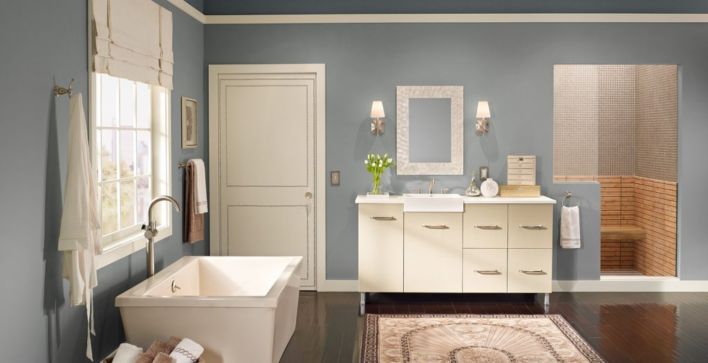 Relaxed And Calming Bathroom Ideas And Inspiration Behr