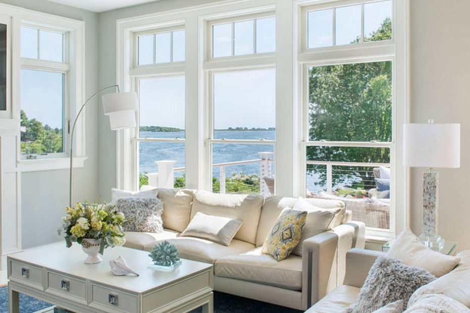 Rhode Island Beach Cottage Living Room Home Is Where Comfort Never