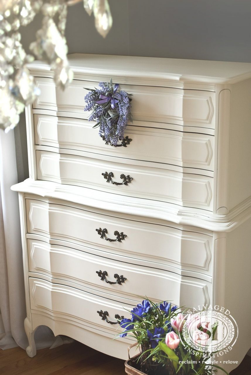 Roadside Restyle Classic French Dresser General Finishes Milk