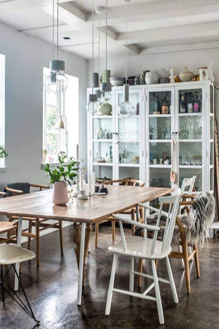 Room Redo Contemporary Farmhouse Dining Room In 2019 Farmhouse