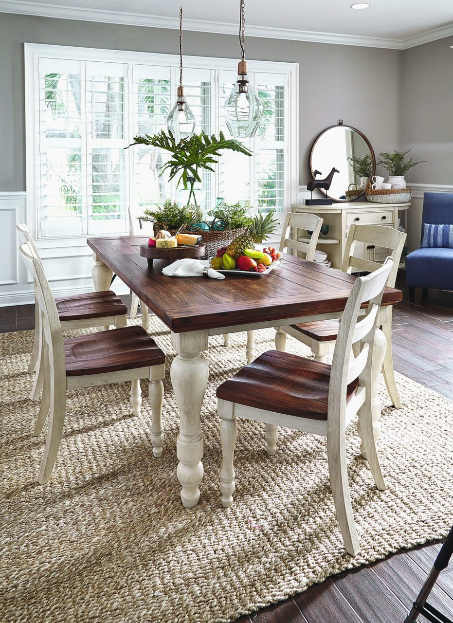 Rustic Farmhouse Dining Table Modern Rustic Dining Room Table Sets