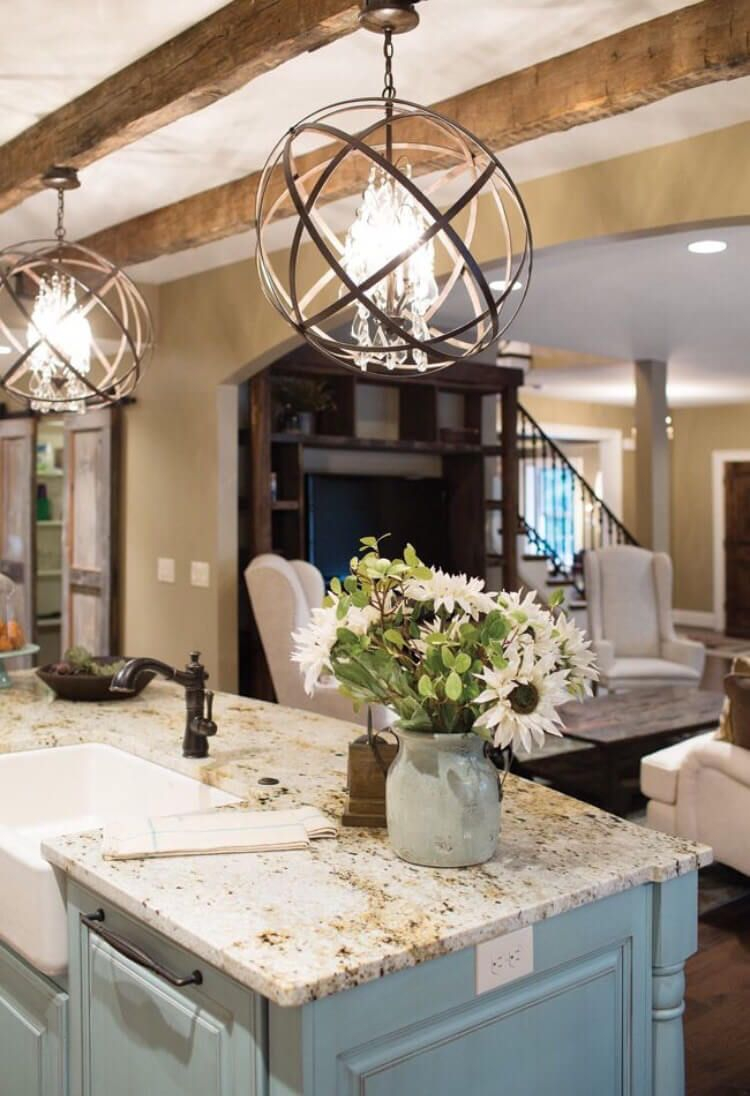 Rustic Light Fixtures For Kitchen Home Design Ideas