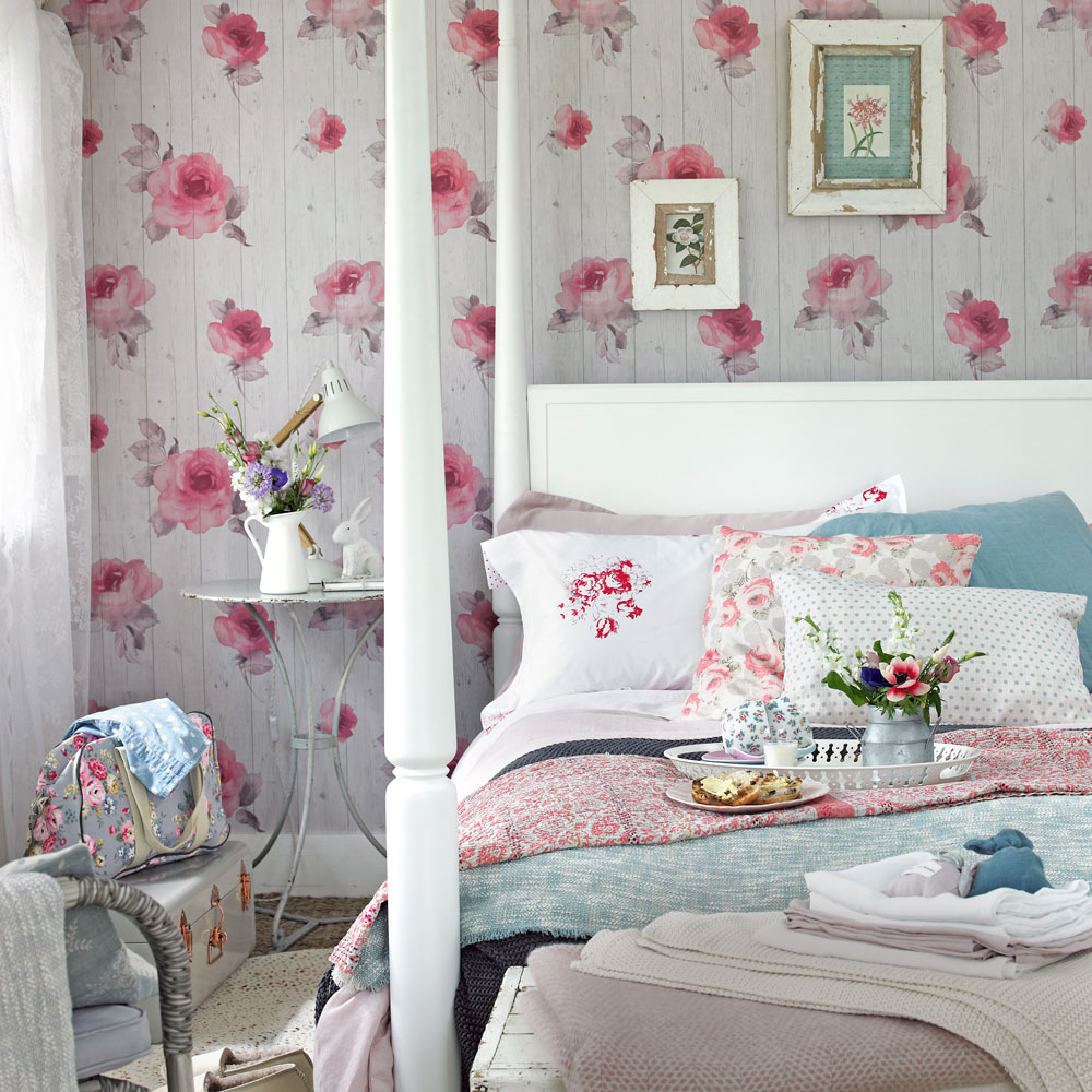 Shab Chic Bedrooms Ideal Home