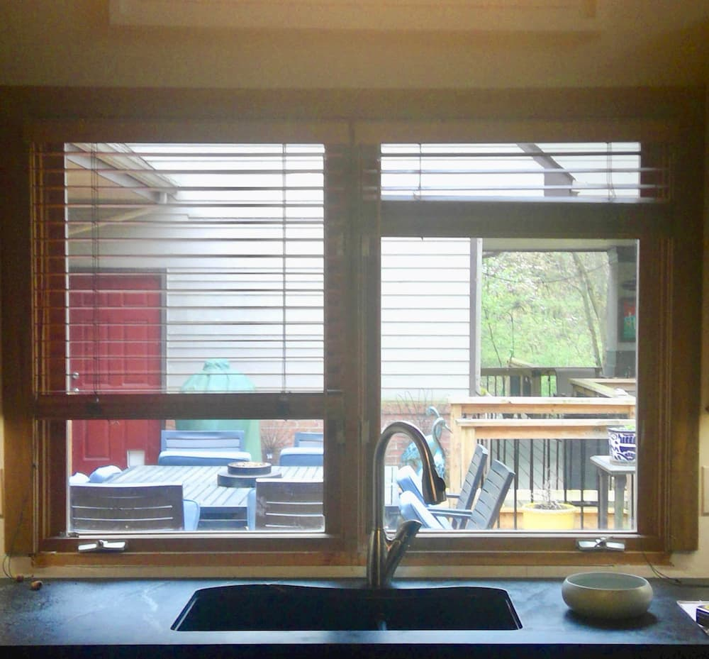 Shadow Box Bay Window Beautifies Mars Kitchen Pella Windows