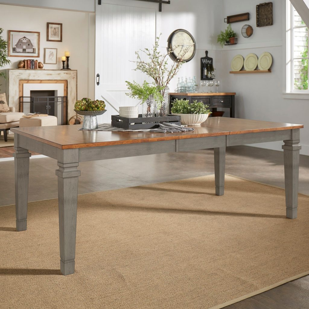 Shop Elena Solid Wood Extendable Rectangular Dining Table Inspire