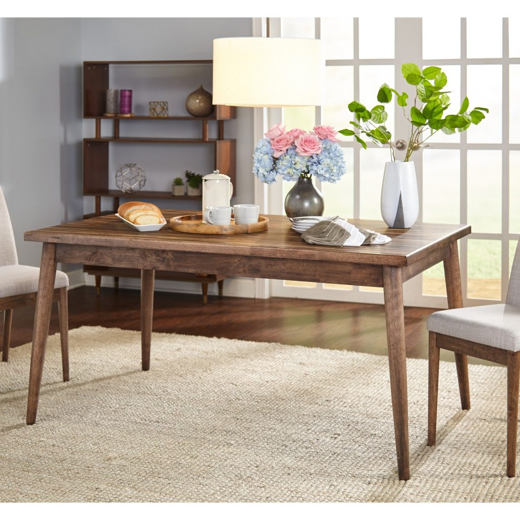 Shop Simple Living Element Mid Century Dining Table Walnut Free