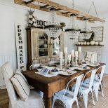 Simple Neutral Fall Farmhouse Dining Room Fall Inspired Food