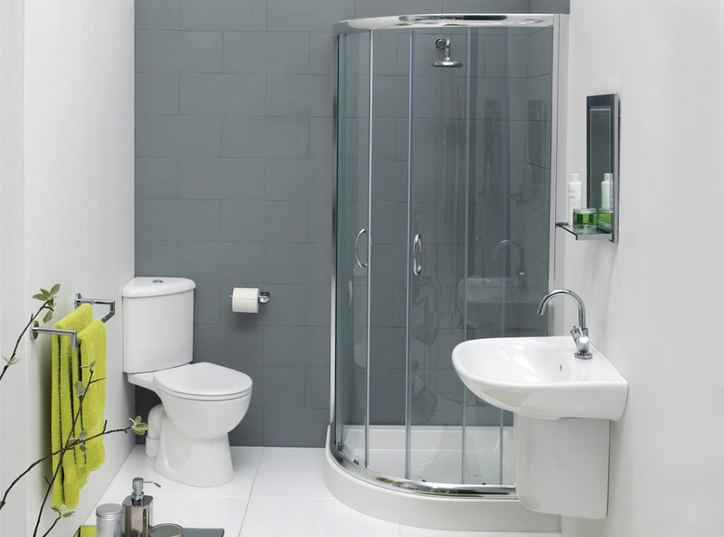 Small Bathroom Remodel With Corner Shower Home Ideas Daily