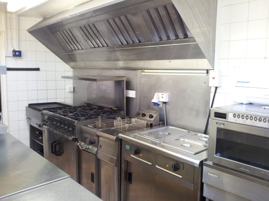 Small Golf Club Commercial Kitchen Restaurant Commercial Kitchen