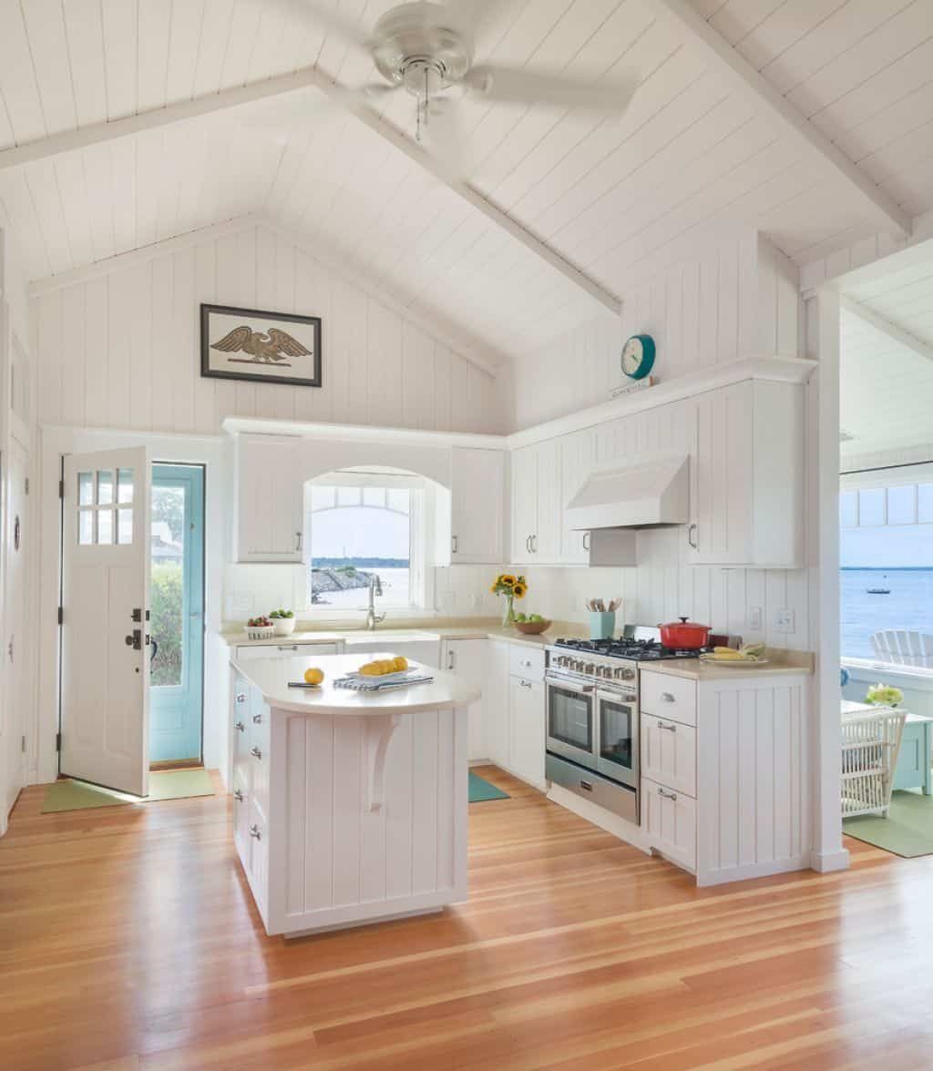 Small Kitchen With Vaulted Ceiling In 2019 Favorite Kitchen