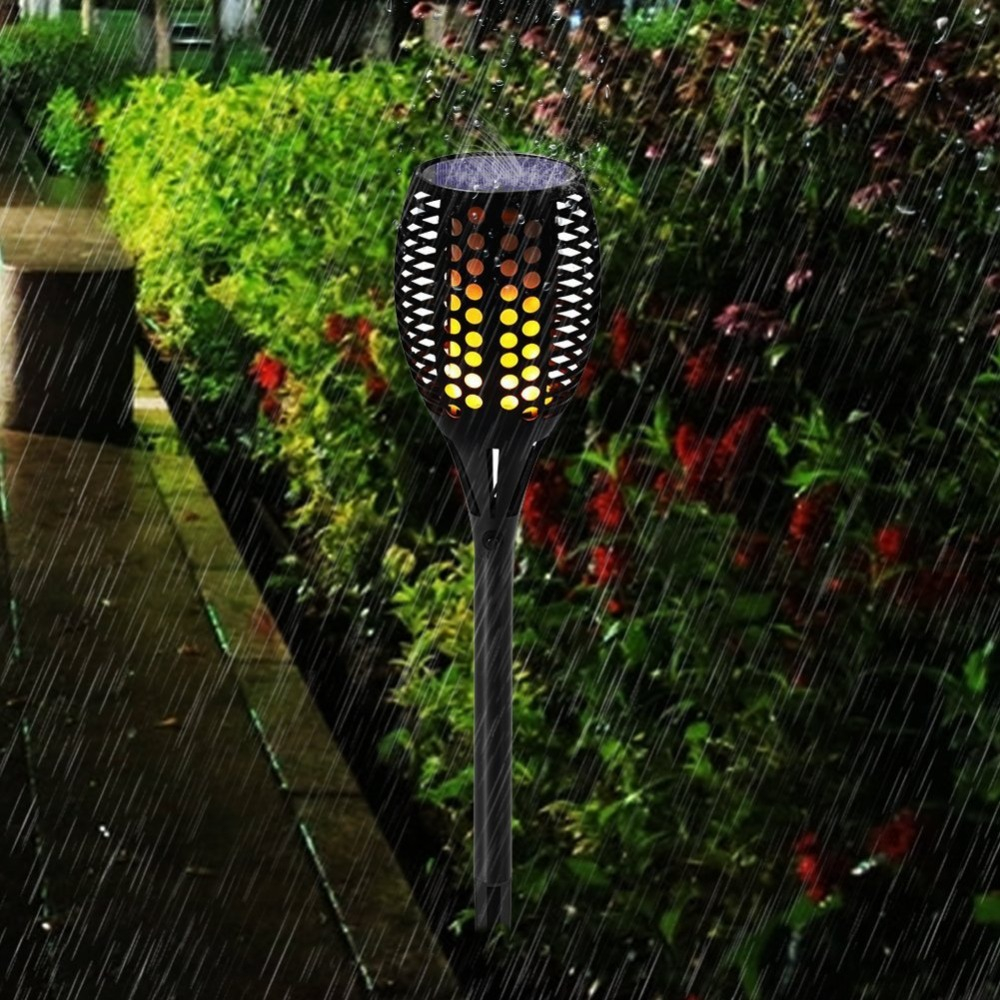 Solar Path Torches Lights Waterproof Tiki Torch Light Outdoor