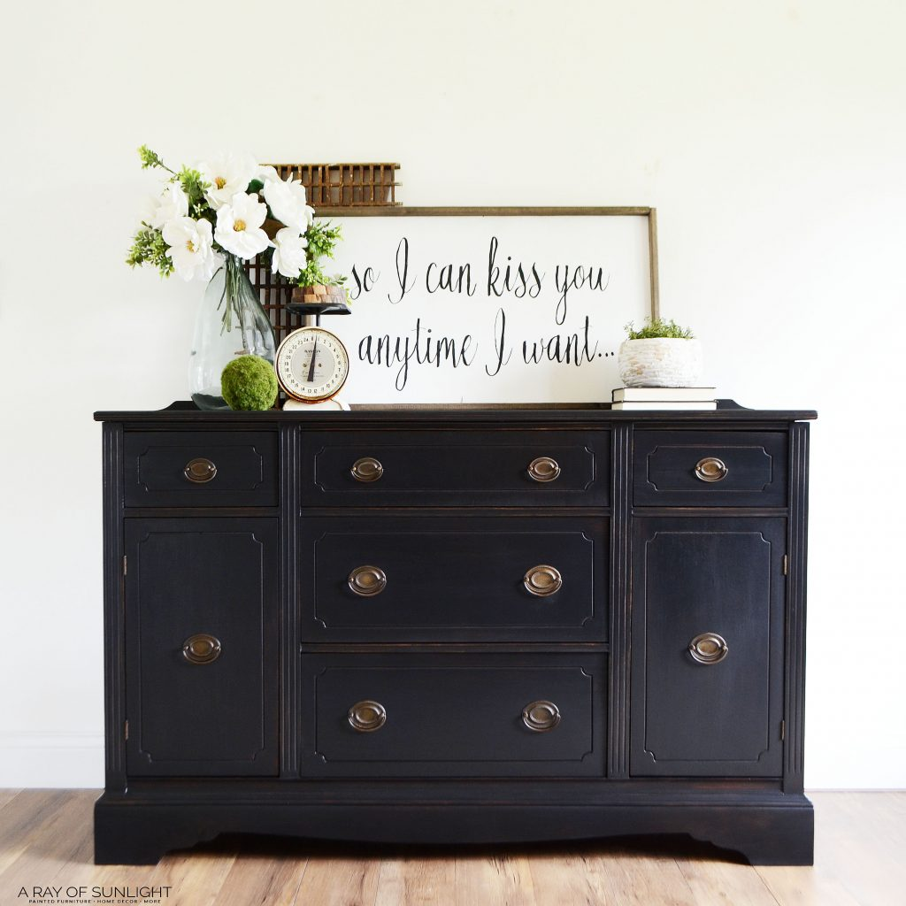 Sold Out Black Buffet Farmhouse Buffet Painted Furniture Etsy