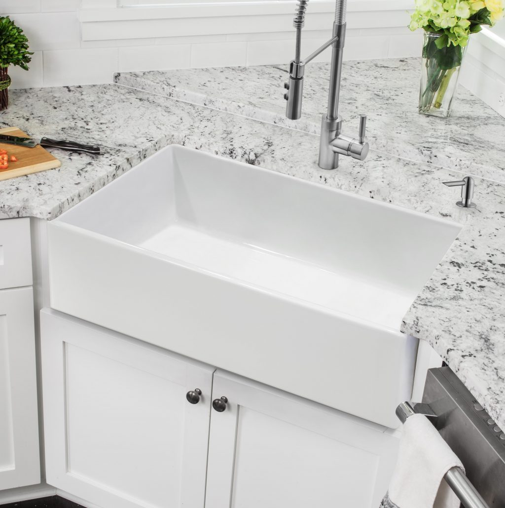 Soleil 33 L X 18 W Farmhouse Kitchen Sink Reviews Wayfair