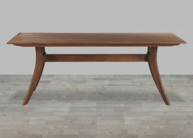 Wood Rectangular Dining Table