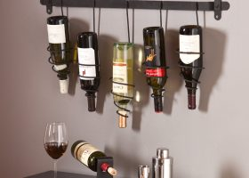 Wall Mount Wine Rack