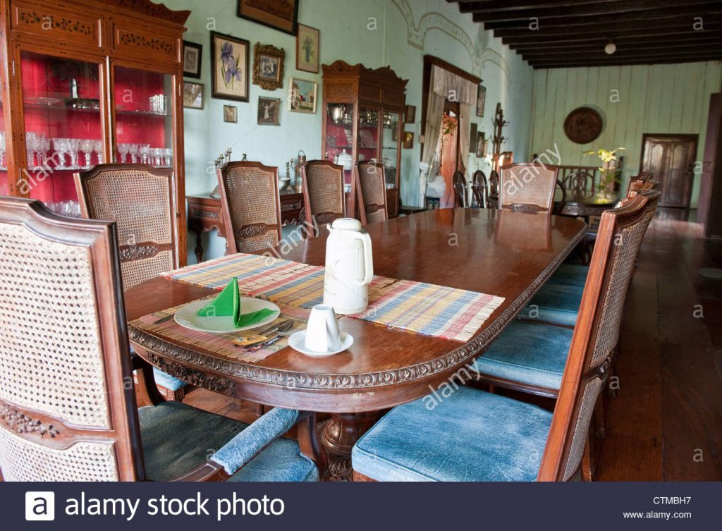 Spanish Colonial Dining Table Stock Photo 49620627 Alamy