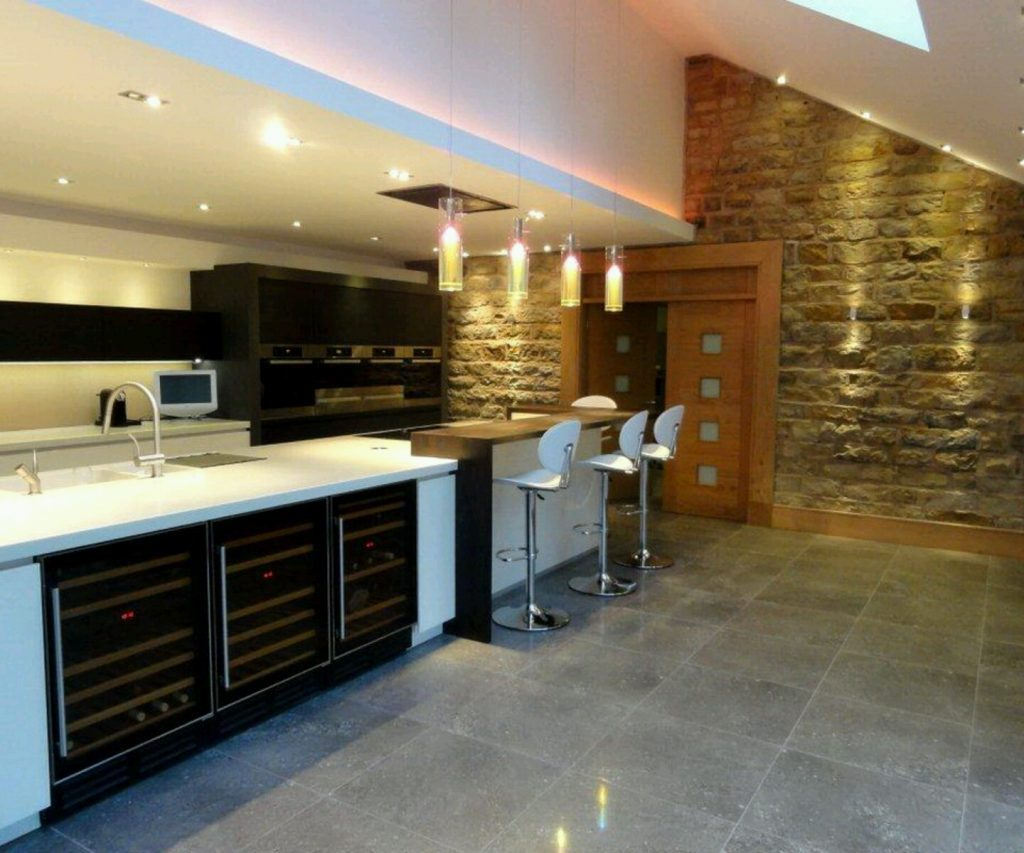 Stunning Basement Kitchen Designs Ideas Yentua