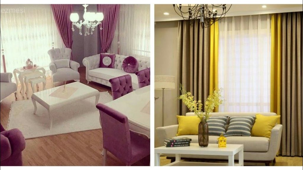 Stylish Living Room Curtains Design Ideas Youtube