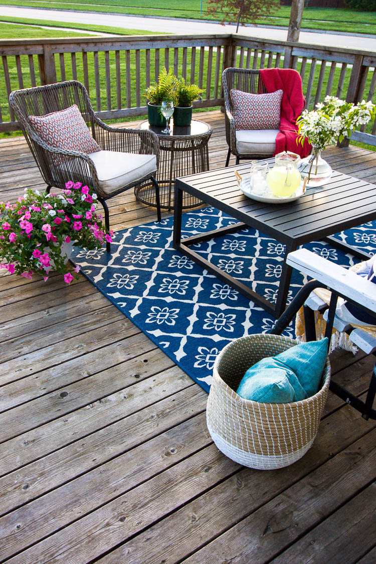 Summer Deck Decorating Ideas Small Stuff Counts