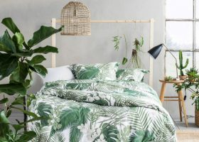 Tropical Themed Bedroom
