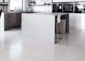 White Porcelain Floor Tile