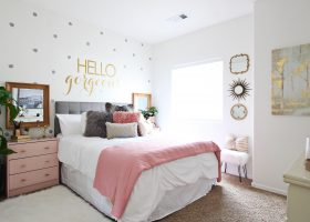 Teenage Girls Bedroom Makeover