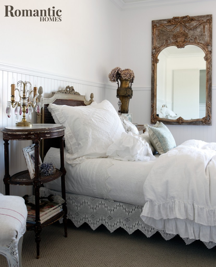 Sweet Dreams Vintage Romantic Bedroom Inspiration