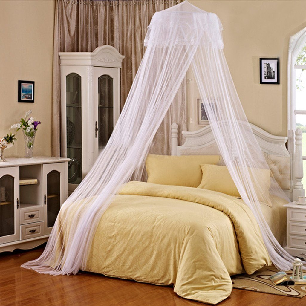 Tc Joy Princess Mosquito Net Dome Lace Insect Repellent Dome Bed