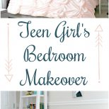 Teen Girls Bedroom Makeover Home Blue Teen Girl Bedroom Pink