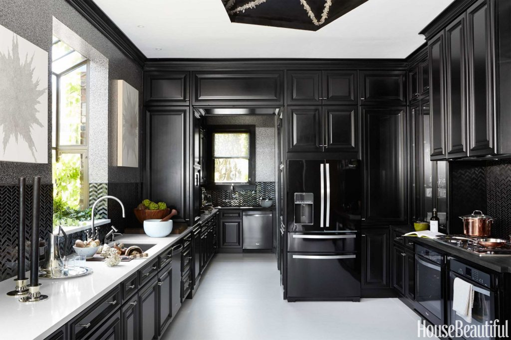 The 2014 Kitchen Of The Year House Black Kitchens Black Kitchen