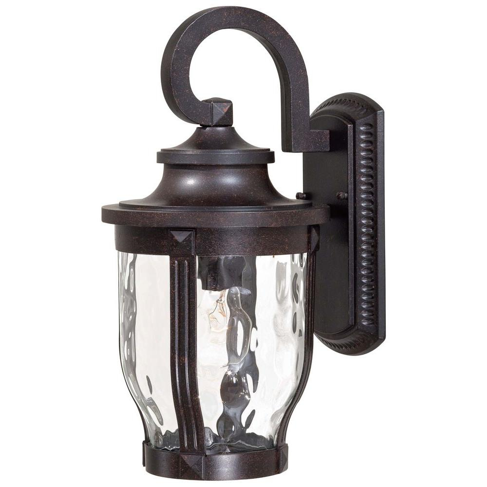 The Great Outdoors Minka Lavery Merrimack 1 Light Corona Bronze