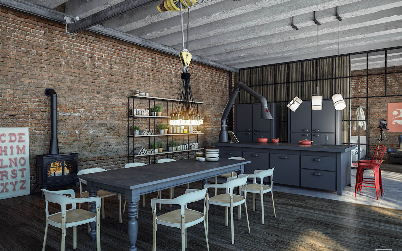 Timeless Industrial Kitchen Decor Ideas I Dcor Aid
