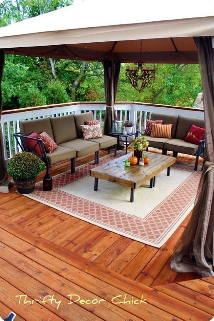 Top 10 Patio Ideas Home Sweet Home Deck Decorating Backyard