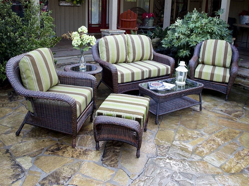 Tortuga 5 Pc Lexington Resin Wicker Poolside Set Fn21500