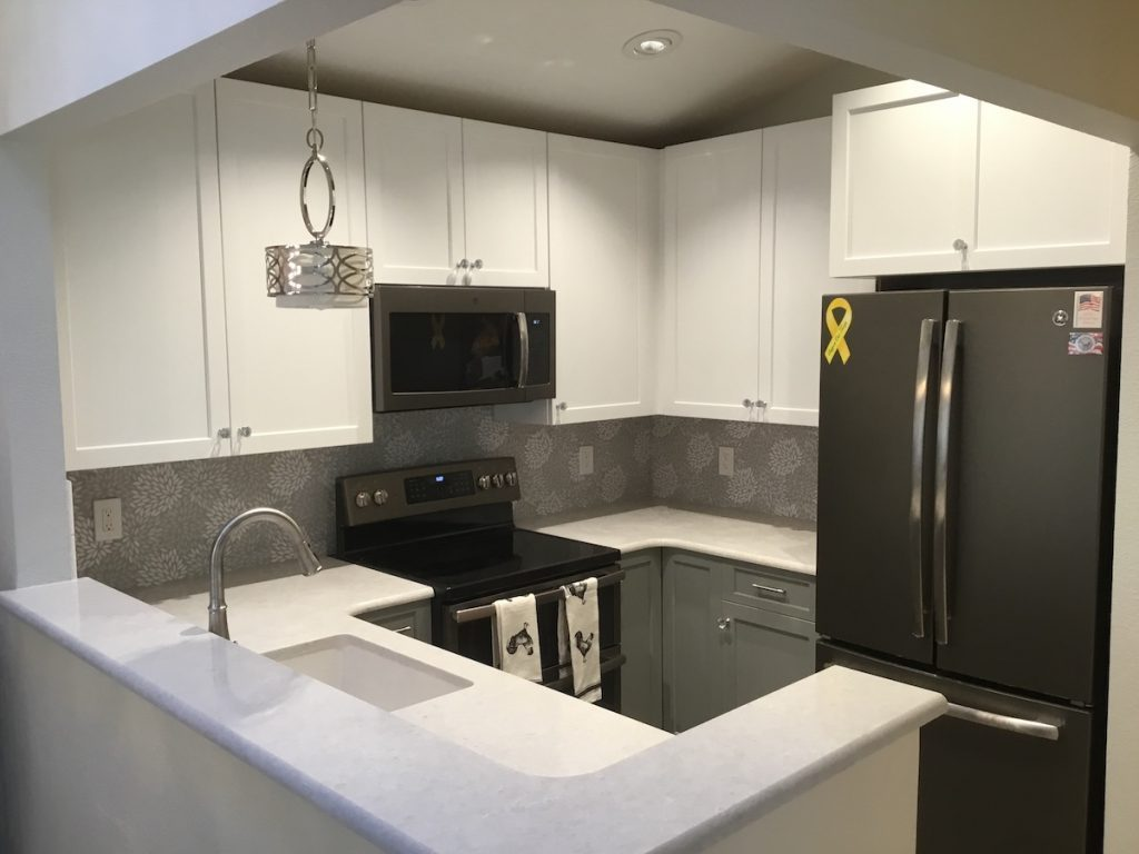 Townhouse Kitchen Remodel Monks Home Improvements