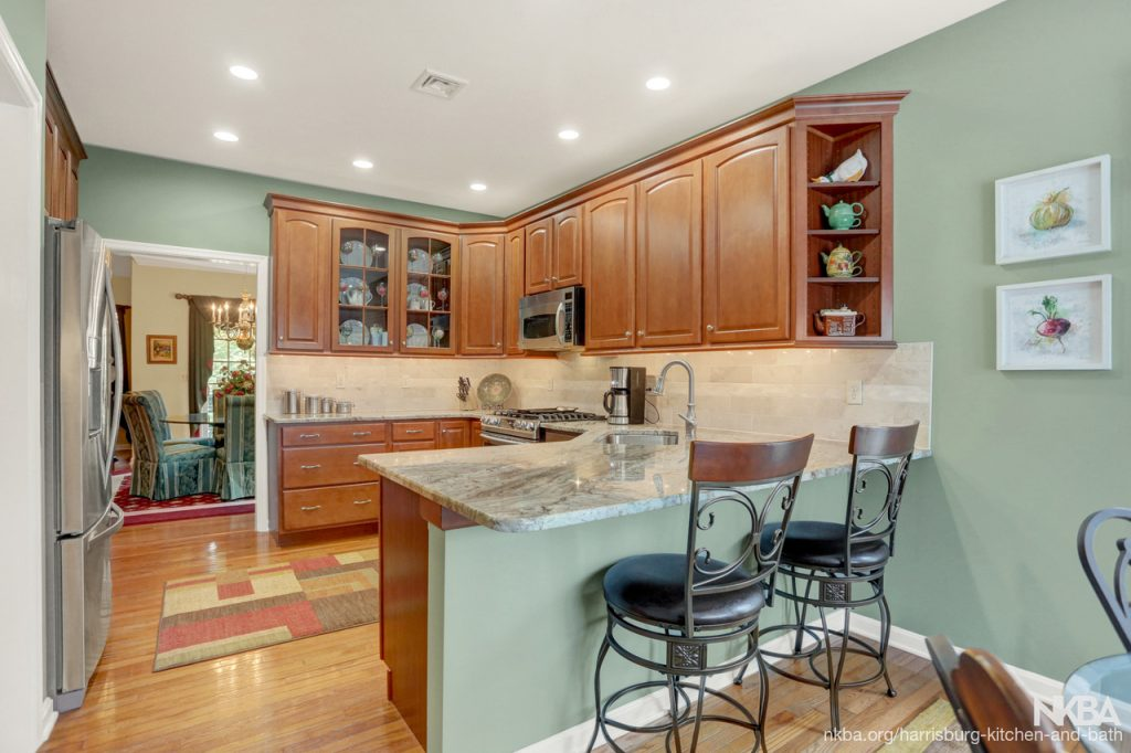 Townhouse Kitchen Remodel With Style K 95 Nkba