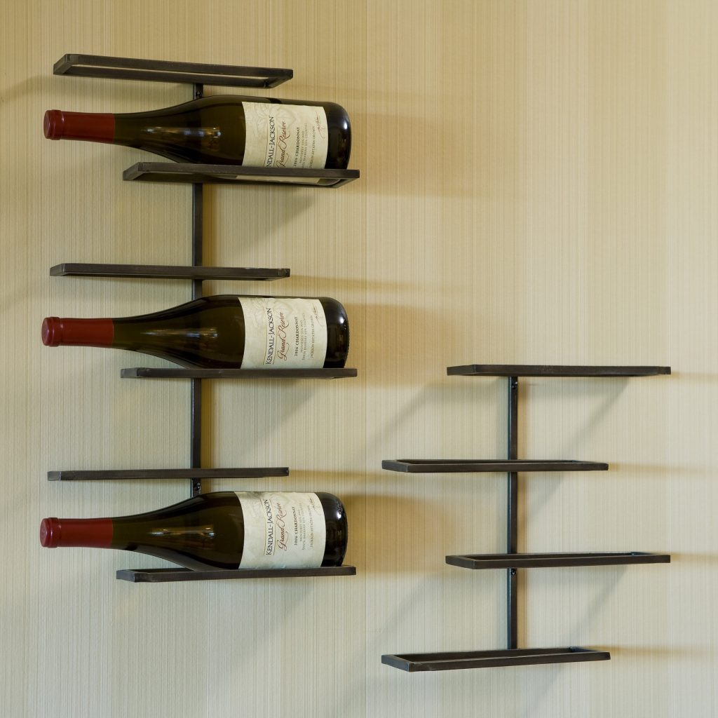 Tribeca 6 Bottle Wall Mounted Wine Rack Walmart