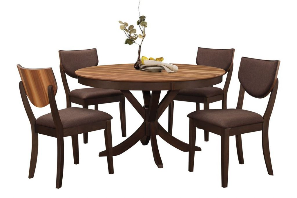 Turner Round Dining Table 4 Side Chairs At Gardner White
