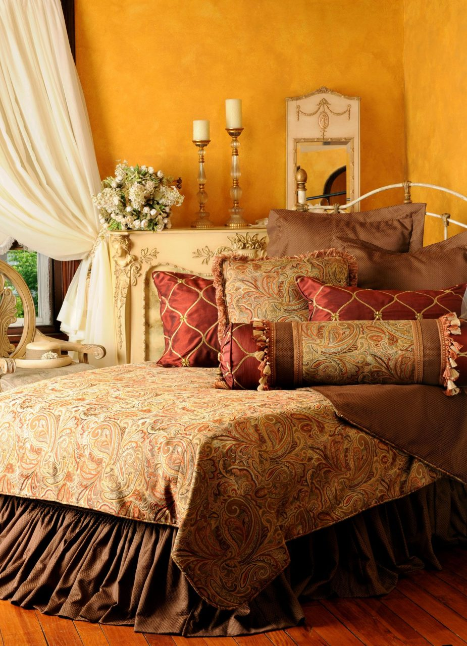 Tuscan Bedroom How Warm Cozy 1 From Bedding Gift Please