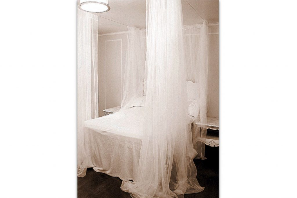 Twin Size Boho Bed Canopy Curtains White Bohemian Bedroom Etsy