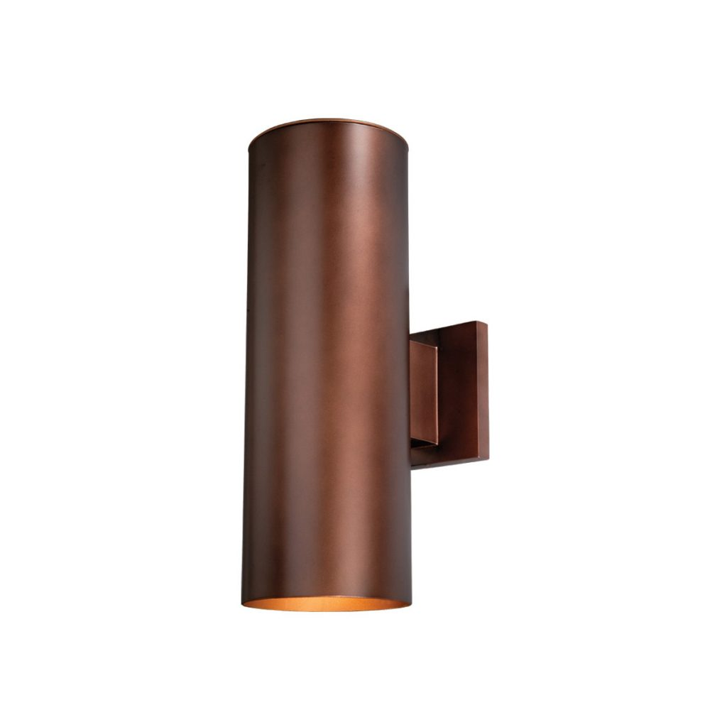 Vaxcel Co Owb052bz Chiasso 2 Light 14 Inch Bronze Outdoor Wall Light