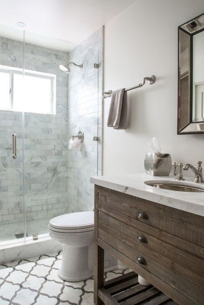Vintage And Classic Bathroom Tile Design 15 Amzhouse