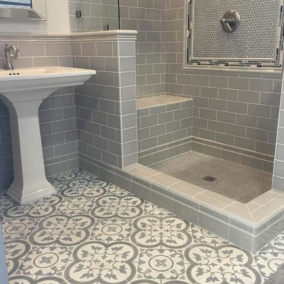 Vintage And Classic Bathroom Tile Design 30 Amzhouse