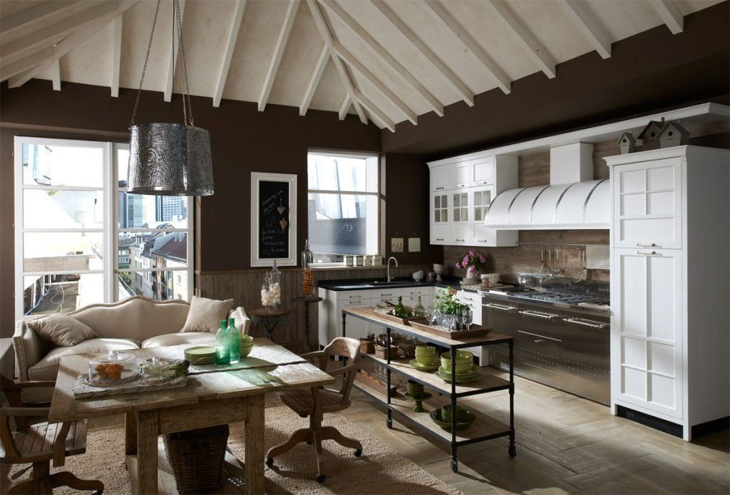 Vintage And Industrial Style Kitchens Marchi Cucine Adorable Home